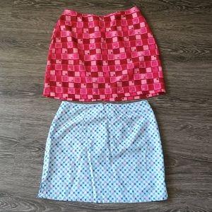 Dresses & Skirts - 2 80s Style Mini Skirts